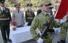 В воинских частях проходят церемонии принятия присяги новобранцами