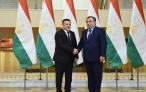 Лидер нации Эмомали Рахмон встретился со спикером законодательной палаты Олий Мажлис Республики Узбекистан