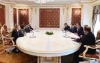 Президент Республики Таджикистан Эмомали Рахмон встретился с руководителем делегации МВФ