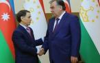 Лидер нации Эмомали Рахмон принял Премьер-министра Азербайджанской Республики Новруза Исмаила оглу Мамедова