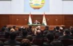 Глава государства Эмомали Рахмон провел кадровые изменения в судебных органах