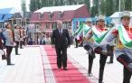Лидер нации Эмомали Рахмон в торжественной обстановке поднял Государственный флаг Таджикистана