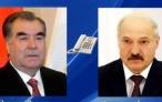 Президент Республики Таджикистан Эмомали Рахмон провёл телефонный разговор с Президентом Республики Беларусь Александром Лукашенко