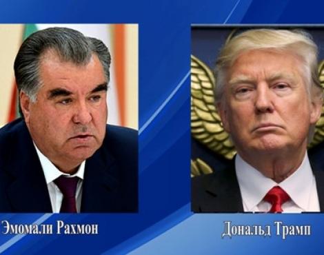 Телеграмма соболезнования Президента Республики Таджикистан Эмомали Рахмона Президенту Соединенных Штатов Америки Дональду Джону Трампу