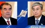 Президент Республики Таджикистан Эмомали Рахмон провёл телефонный разговор с Президентом Республики Казахстан Касым-Жомартом Токаевым