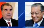 Поздравительная телеграмма Лидера нации Эмомали Рахмона Премьер-министру Малайзии доктору Махатхиру Мухаммаду