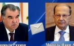 Телеграмма соболезнования Президента Республики Таджикистан Президенту Ливанской Республики