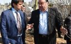Лидер нации Эмомали Рахмон ознакомился с ходом работ по благоустройству и озеленению столицы