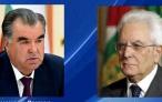 Телеграмма соболезнования Президента Республики Таджикистан Эмомали Рахмона Президенту Итальянской республики Серджио Маттарелле