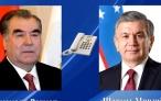 Президент Республики Таджикистан Эмомали Рахмон провёл телефонный разговор с Президентом Республики Узбекистан Шавкатом Мирзиёевым