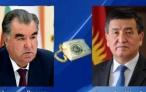 Телефонный разговор Президента Республики Таджикистан Эмомали Рахмона с Президентом Кыргызской Республики Сооранбаем Жээнбековым