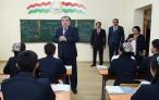 Сдача в эксплуатацию дополнительного здания при среднем общеобразовательном учреждении №18 города Душанбе