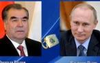 Телефонный разговор Президента Республики Таджикистан Эмомали Рахмона с Президентом Российской Федерации Владимиром Путиным