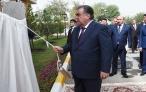 Глава государства Эмомали Рахмон принял участие в открытии нового здания Городской клинической больницы кожных заболеваний