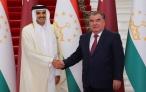 Лидер нации Эмомали Рахмон встретился с Эмиром Государства Катар Шейхом Тамимом ибн Хамадом Оли Сони