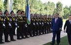 Начало государственного визита Президента Республики Таджикистан Эмомали Рахмона в Республику Узбекистан