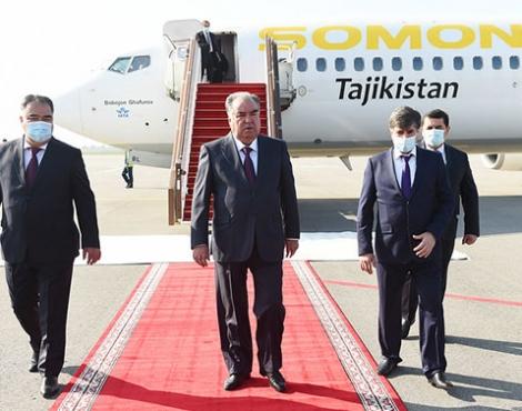 Рабочая поездка Главы государства Эмомали Рахмона в Согдийскую область