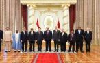 Президент Республики Таджикистан Эмомали Рахмон принял верительные грамоты от вновь назначенных послов зарубежных государств