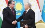 Совместное заявление Президента Республики Таджикистан Эмомали Рахмона и Президента Республики Казахстан Нурсултана Назарбаева