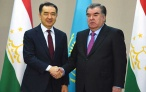 Встреча Президента Республики Таджикистан Эмомали Рахмона с Премьер-министром Республики Казахстан Бакитджаном Сагинтаевым