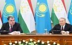 Заявление для прессы по итогам таджикско-казахстанской встречи на высшем уровне
