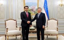 Председатель города Душанбе Рустами Эмомали с официальным визитом посетил город Ташкент